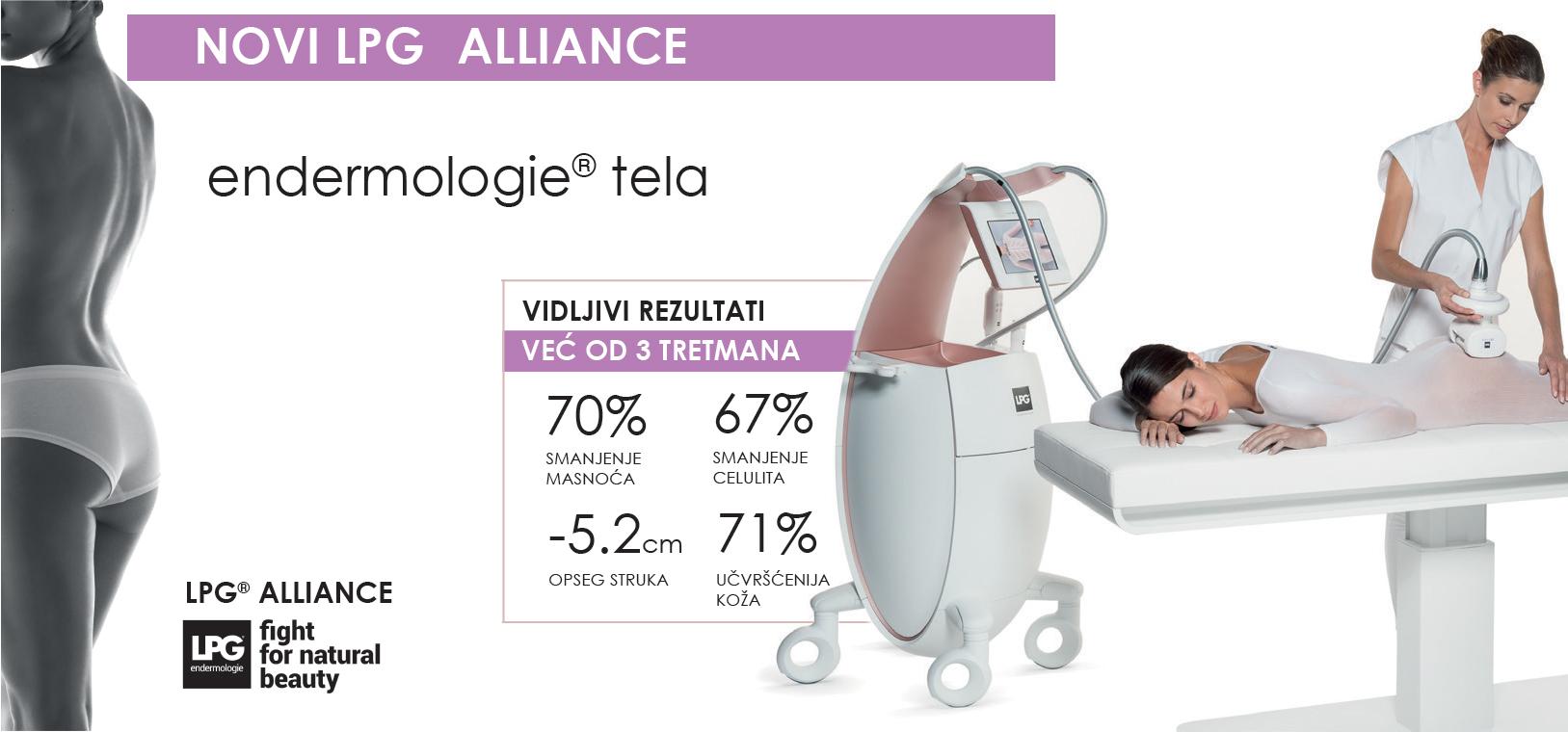 lpg alliance tretman uklanjanja celulita Beograd
